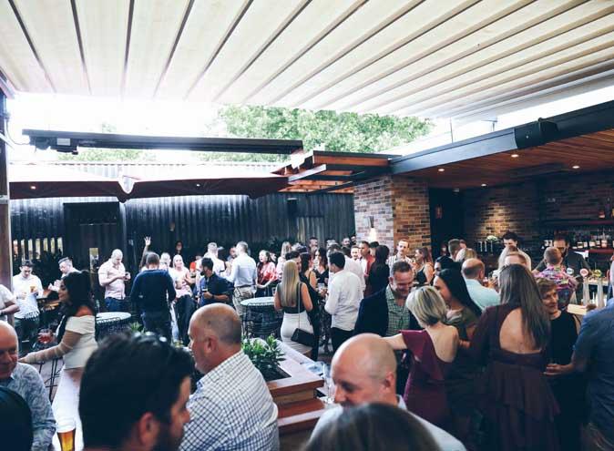 Precinct Hotel – Outdoor Function Venue