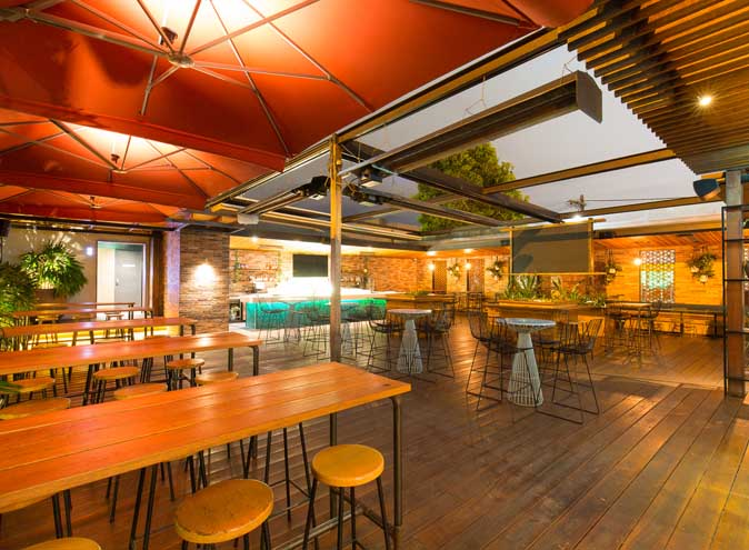 Precinct Hotel – Outdoor Function Venue