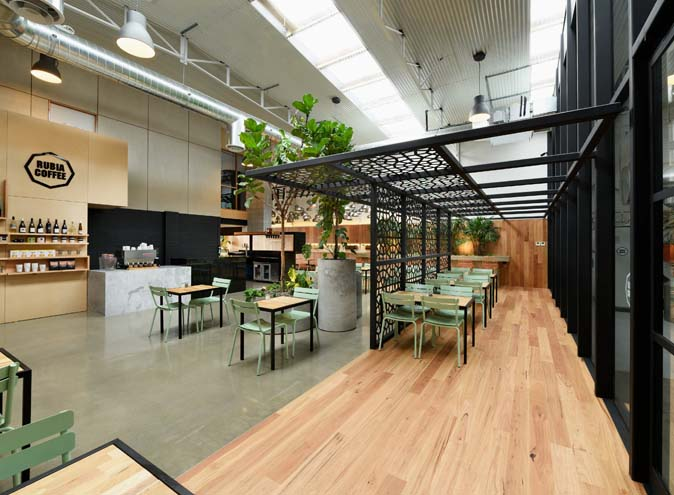 Rubia Cafe – Contemporary Function Venue