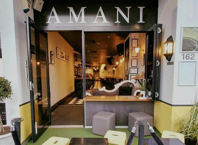 Amani Bar & Kitchen <br/> Small Function Rooms