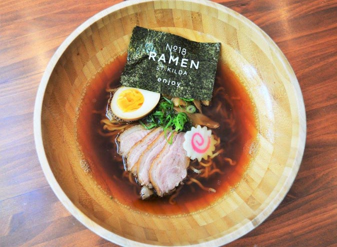 No.18 Ramen – Japanese Dining