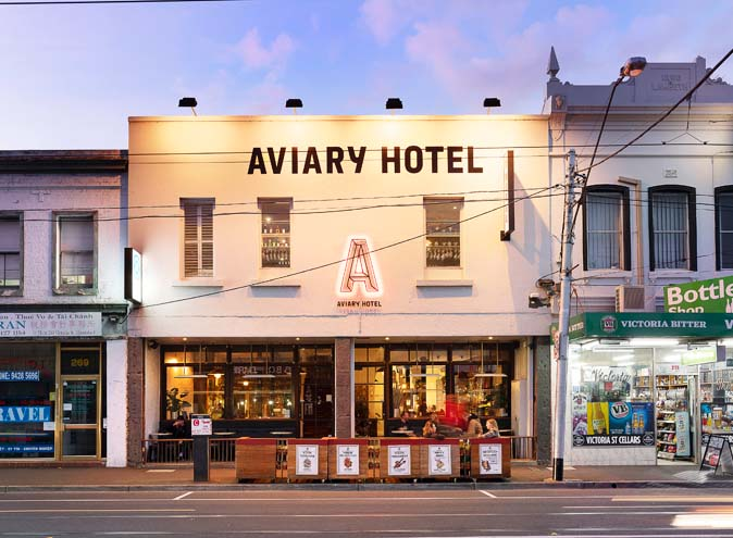 Aviary Hotel <br/> Best Beer Gardens