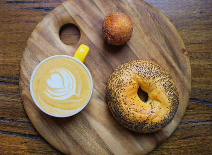 5 Points </br> Specialty Coffee & Bagels