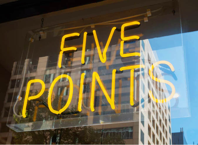 5 Points – Specialty Coffee & Bagels