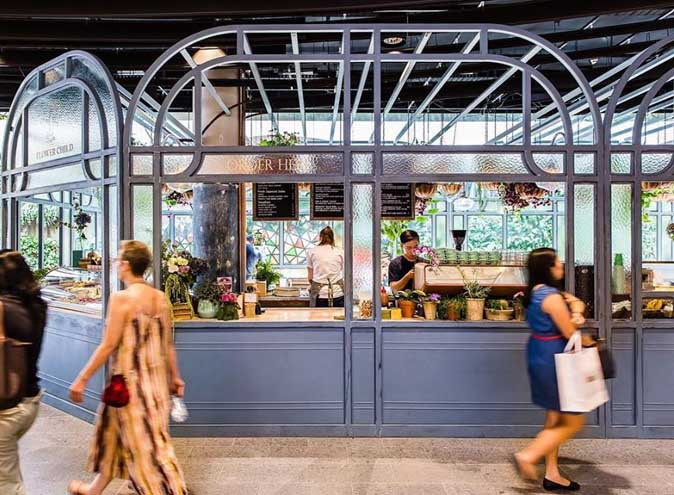 Flower Child Cafe Restaurant Dining Lush Bar Green Oasis CBD Sydney Best Top Venues Good Popular Date Spot Spots 10