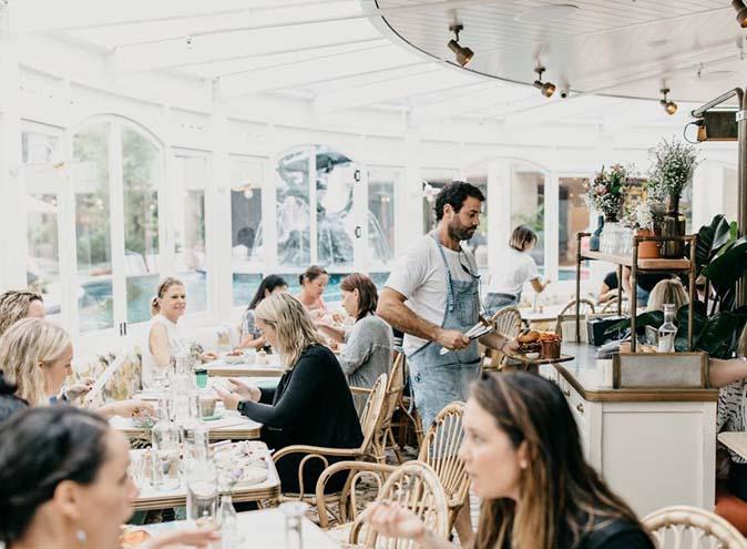 Flower Child Cafe Restaurant Dining Lush Bar Green Oasis CBD Sydney Best Top Venues Good Popular Date Spot Spots 11
