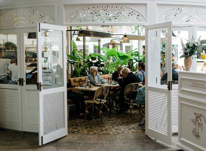 Flower Child Cafe Restaurant Dining Lush Bar Green Oasis CBD Sydney Best Top Venues Good Popular Date Spot Spots 4