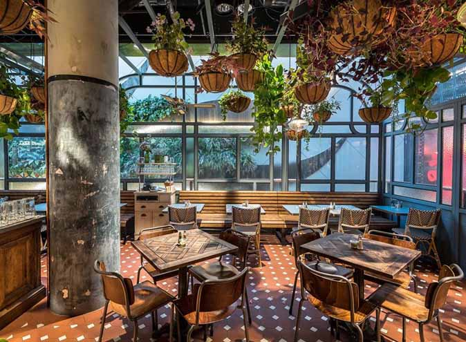 Flower Child Cafe Restaurant Dining Lush Bar Green Oasis CBD Sydney Best Top Venues Good Popular Date Spot Spots 5