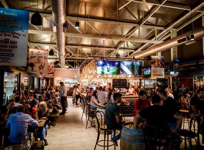 Beerhaus Bowen Hills <br/> Warehouse Venue Hire