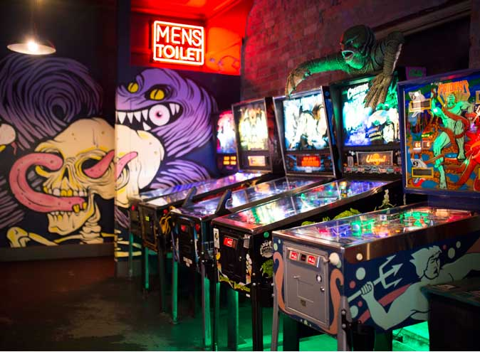 Netherworld Arcade – Vegan Arcade Bar