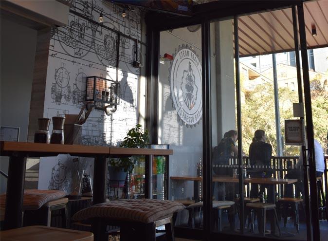 Steamtrain – Top Bars