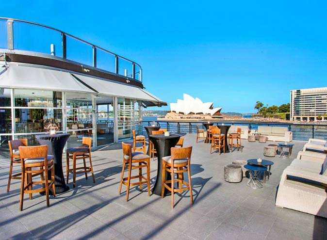 Cruise Bar Venue Hire Sydney Function Rooms CBD Venues Party Room Birthday Corporate Event Waterfront Harbour View Outdoor Classy.1
