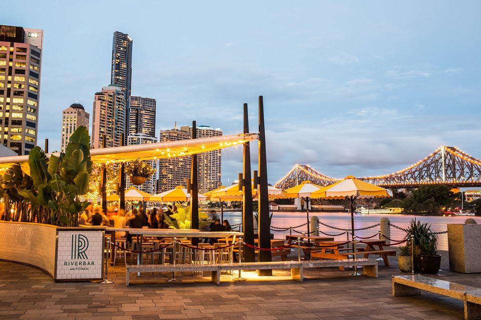 Riverbar Kitchen Restaurant Brisbane Dining Waterfront Lush Bar Green CBD Best Top Venues Good Popular Date Spot 2 1
