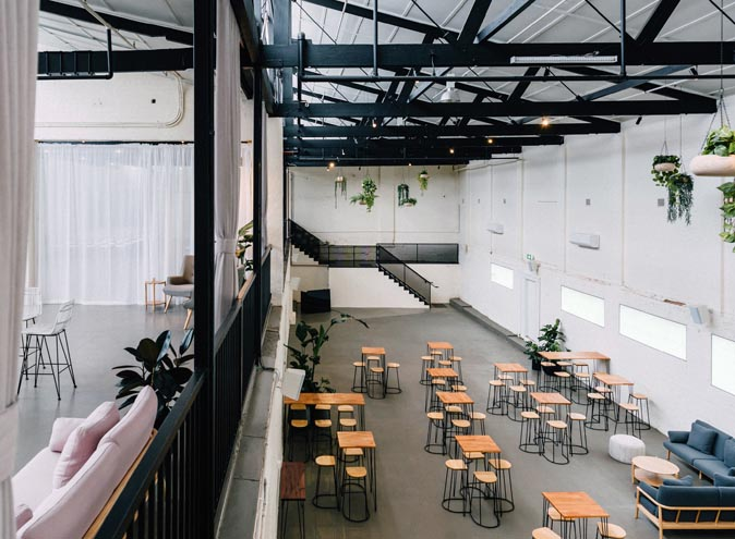 The Wool Mill function rooms Melbourne Brusnwick East venue large warehouse blank canvas wedding engagement party corporate big event spacious nice 004 10