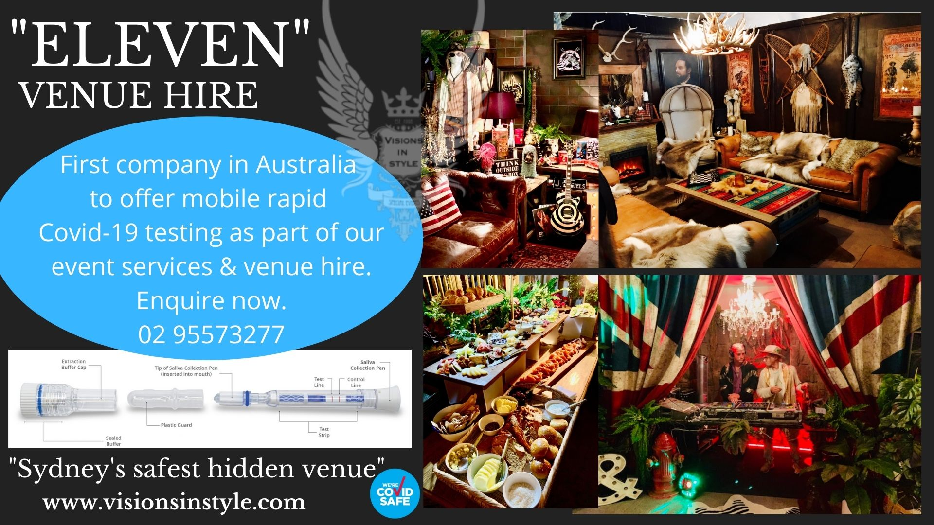 Vision in style function venues sydney venue hire event rooms cover image