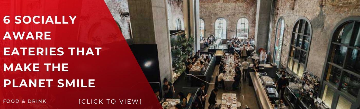 melbourne bars restaurants functions eateries enviro friendly