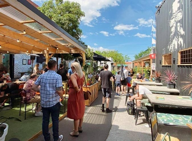 Lickety Split – Best Beer Gardens