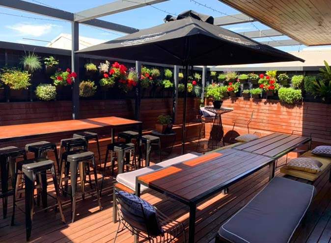 Golden Fleece – Rooftop Beer Gardens