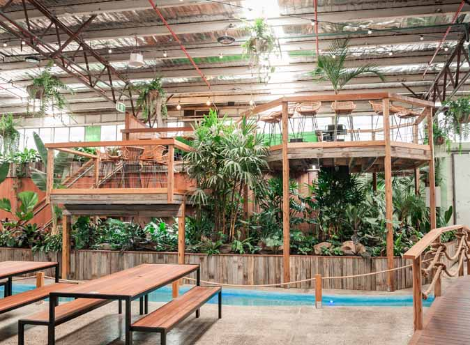 Jungle Deck & Tiki Bar @ Moon Dog World