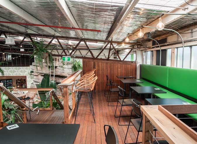 Jungle Deck <br/> @ Moon Dog World