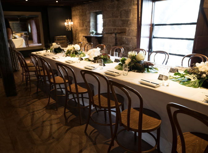 Rocks Room – Exclusive Function Hire