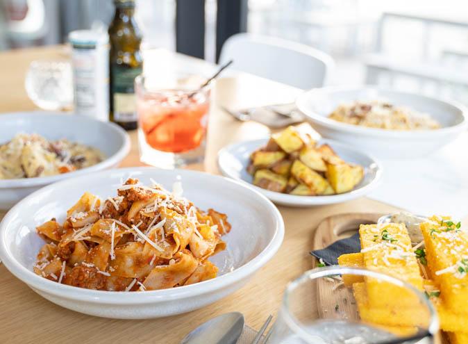Mamma's Boy Trattoria </br> Italian Restaurants