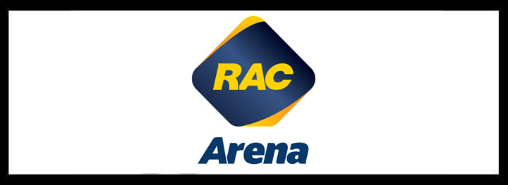 RAC Arena </br> Large Function Venues