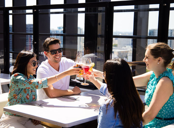 merrymaker rooftop venues Adelaide rooms city cbd venue hire party room birthday corporate event private exclusive blank canvas themed nice 11