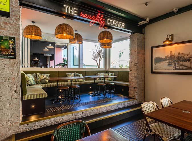 prince consort hotel fortitude valley restaurant restaurants pubs pub food drink drinks menu eateries eats diner 7