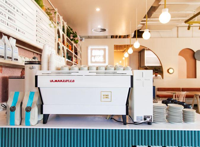 SoHo Lane <br/> Beautiful Cafes