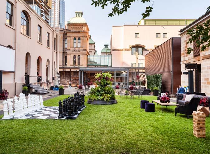 The Mint <br/> Amazing Indoor/Outdoor Space