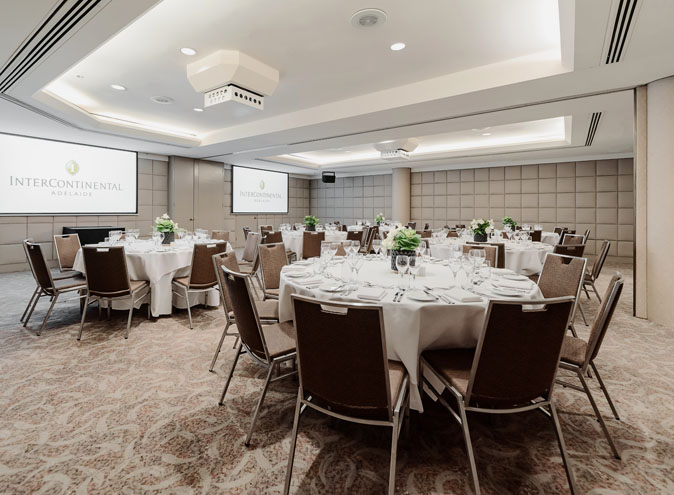 InterContinental adelaide function functions room rooms venue venues hire celebration birthdays wedding engagement event cbd 7
