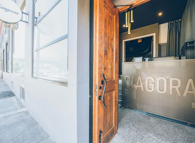 Diagora <br/> Warehouse Venue Hire