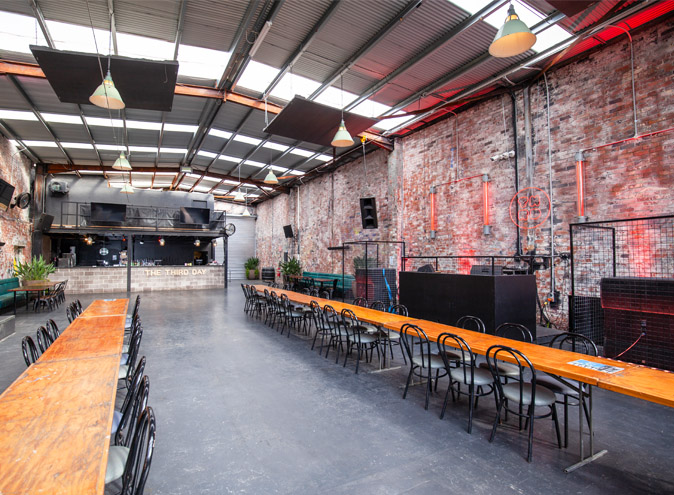 Third Day Warehouse Venue Hire North Melbourne Rooms Function Venues Party Warehouse Unique Large Birthday Corporate Cocktail Dance Event Blank Canvas 005