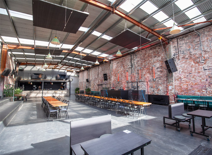 Third Day Warehouse Venue Hire North Melbourne Rooms Function Venues Party Warehouse Unique Large Birthday Corporate Cocktail Dance Event Blank Canvas 006