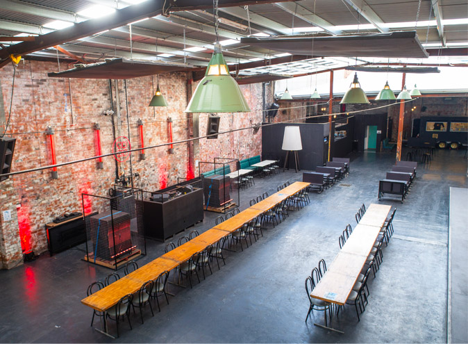 Third Day Warehouse Venue Hire North Melbourne Rooms Function Venues Party Warehouse Unique Large Birthday Corporate Cocktail Dance Event Blank Canvas 010