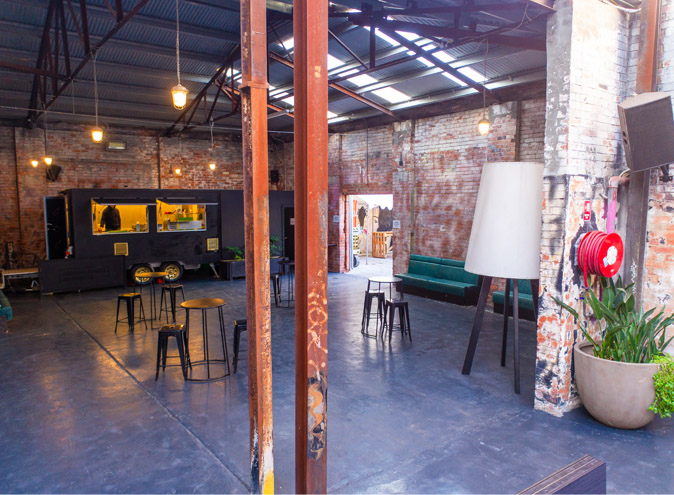 Third Day Warehouse Venue Hire North Melbourne Rooms Function Venues Party Warehouse Unique Large Birthday Corporate Cocktail Dance Event Blank Canvas 013