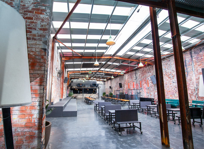 Third Day Warehouse Venue Hire North Melbourne Rooms Function Venues Party Warehouse Unique Large Birthday Corporate Cocktail Dance Event Blank Canvas 014