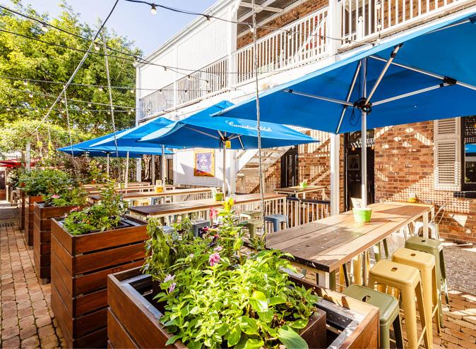 Norman hotel bars brisbane bar woolloongabba beer garden outdoor pub top best good 006