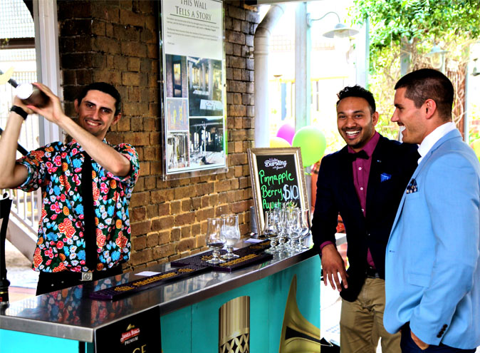 Norman hotel bars brisbane bar woolloongabba beer garden outdoor pub top best good 010