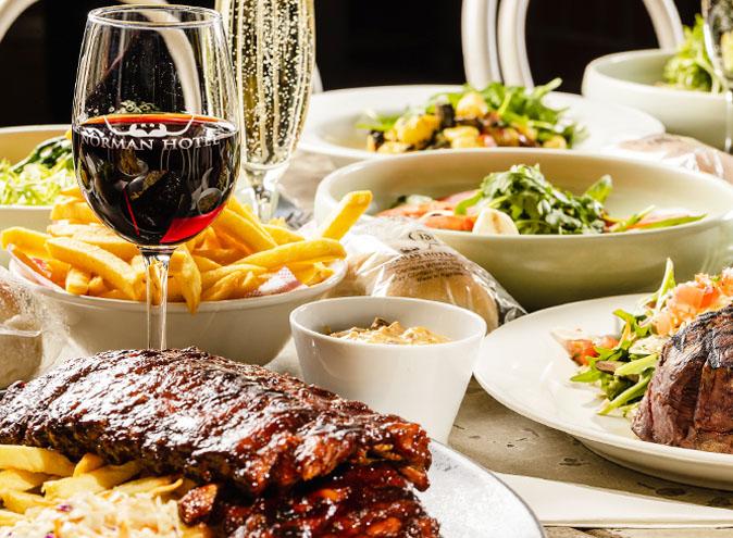 Norman hotel restaurants brisbane restaurant woolloongabba dining top best good pub beer garden eatery 012