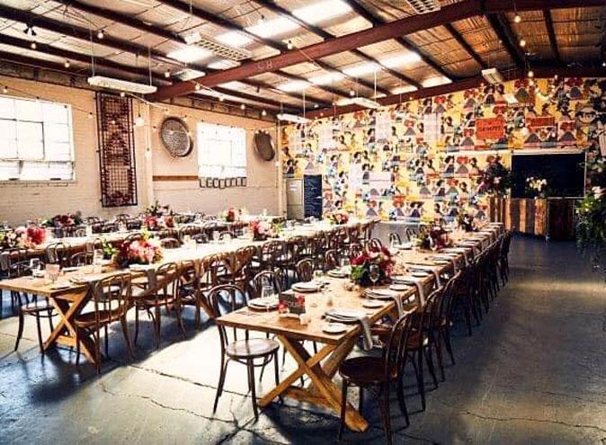 The Studio Footscray <br/> Warehouse Function Venues