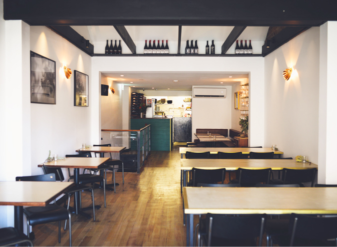 Golden gully restaurants sydney restaurant Leichhardt bar dining intimate date small balcony food wine set menu 003