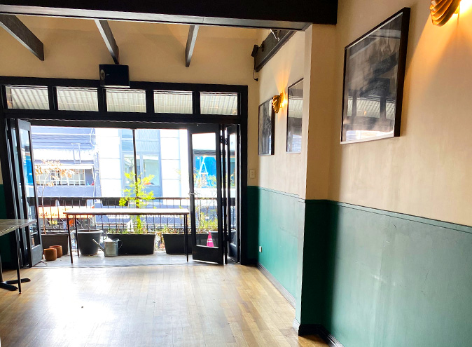 Golden gully small function venues sydney venue hire event rooms leichhardt west balcony rooftop intimate room birthday engagement party 007