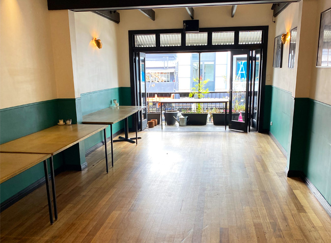 Golden gully small function venues sydney venue hire event rooms leichhardt west balcony rooftop intimate room birthday engagement party 008
