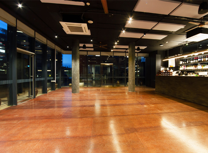 Jung sung venue hire sydney function venue rooms chippendale venues blank canvas event room space industrial open 002